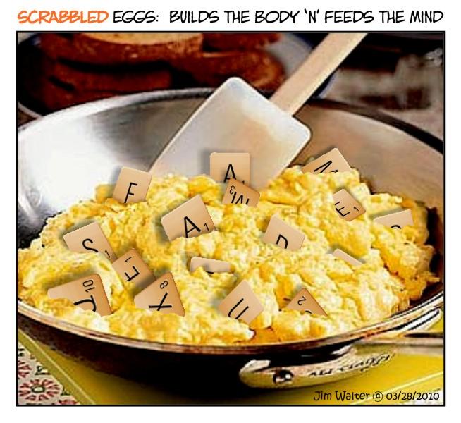 100327 - Scrabbled eggs