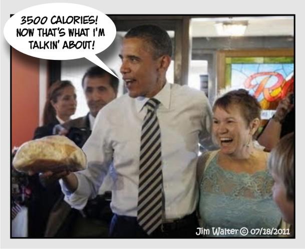 110718 - 3500 Calories