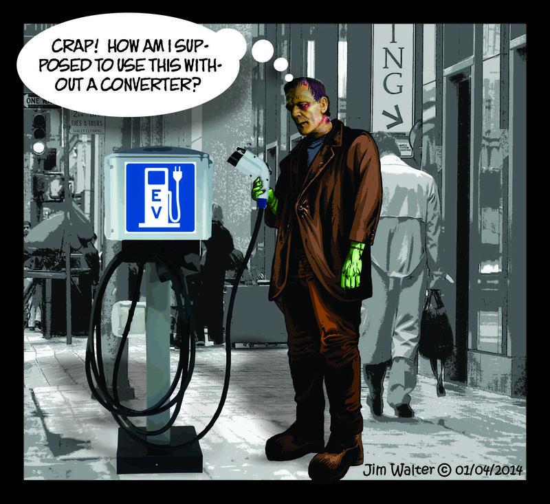 131214 - Frankenstein meets an EV station