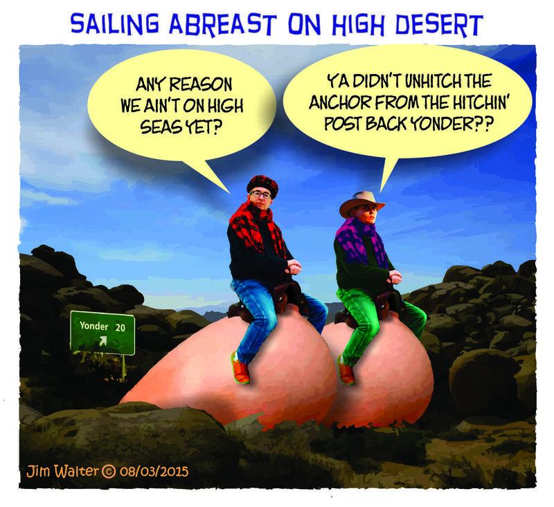150803 - Sailing abreast